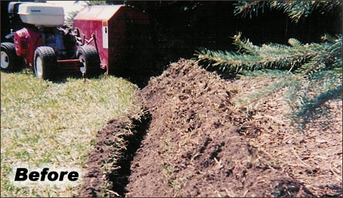 Landscape Edging Process for Lawn Care and Landscape Management Services | Waukesha, Oconomowoc, Delafield, Brookfield, Menomonee Falls, Pewaukee, Wisconsin