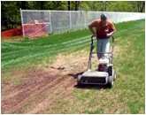 Slit Seeding Lawn Services
