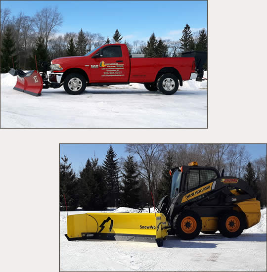 Competitive Edge Winter and Snow Plowing Services Services | Waukesha, Oconomowoc, Delafield, Brookfield, Menomonee Falls, Pewaukee, Wisconsin